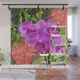 Bold Tropics Wall Mural