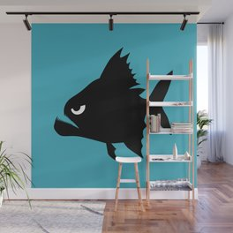 Angry Animals - Piranha Wall Mural