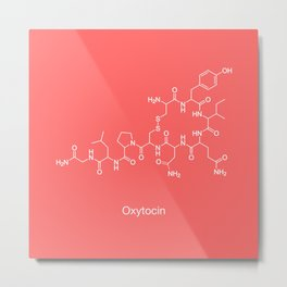 Oxytocin Metal Print