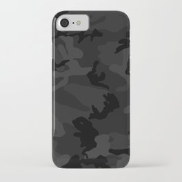 Camouflage Black iPhone Case