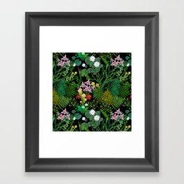 Botanical Bog Framed Art Print