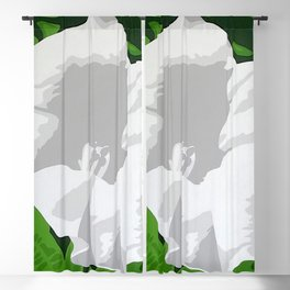 Angel Trumpet Blackout Curtain