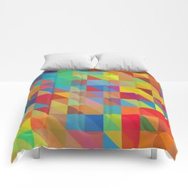 Color Chaos Comforters