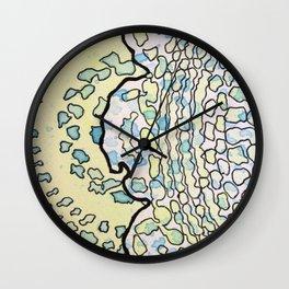 1, Inset A Wall Clock