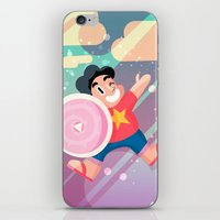 steven universe iPhone & iPod Skins featuring Steven by Viga Victoria Gadson