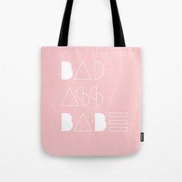 Bad Ass Babe Tote Bag