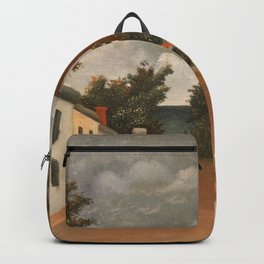 Henri Rousseau - Vue des environs de Paris Backpack