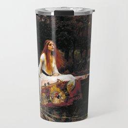 John William Waterhouse - The Lady of Shalott Travel Mug