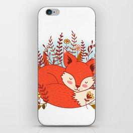 All Summer I Dream Of Autumn iPhone Skin