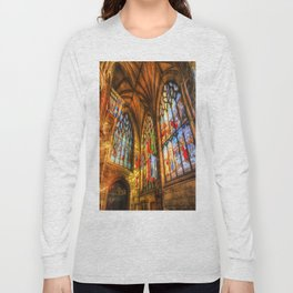 Evening Sun Cathedral Long Sleeve T-shirt