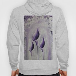 Violet flowers Hoody