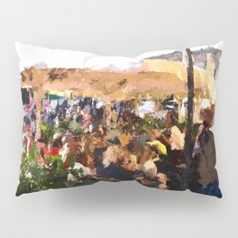 Tourists in Nyhavn Pillow Sham