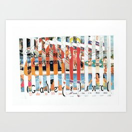 Stripes #2 Art Print