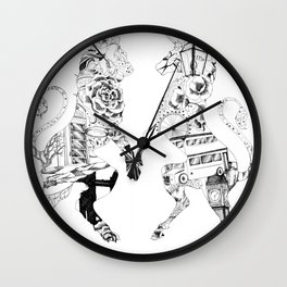 Everything British Wall Clock