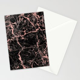 Marble Rose Gold - Someone Stationery Cards