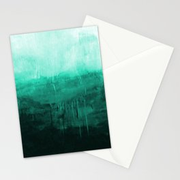 Paint 8 abstract minimal modern water ocean wave painting must have canvas affordable fine art Stationery Cards
