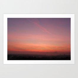 Dawn Blush Art Print