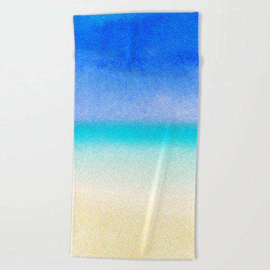 Tropical Sea #1 Beach Towel