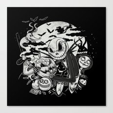 Filling Your Dreams to the Brim with Fright Canvas Print