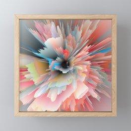 Digital Poppy Framed Mini Art Print