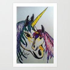 Fantasy... Art Print