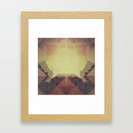 The Last Light Framed Art Print