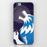 werewolf iPhone & iPod Skins featuring Werewolf by Designsbyemjay