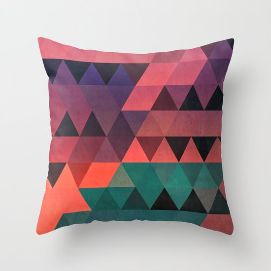 tryy cyty Throw Pillow