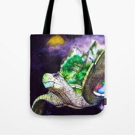 Earth Twortle Tote Bag