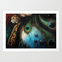 Gaia's Garden Art Print