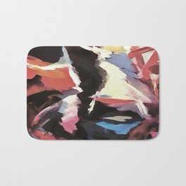 Moody Cow Bath Mat