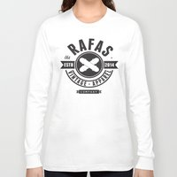 skate Long Sleeve T-shirts featuring Skate by Rafas