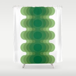 Mas Echoes Shower Curtain