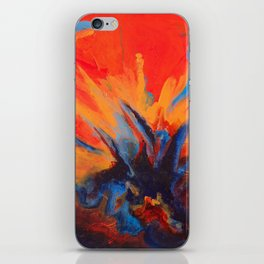 Explosive Dialogue iPhone Skin