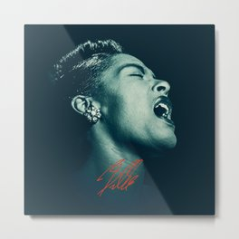 Billie / The great Billie Holiday Metal Print