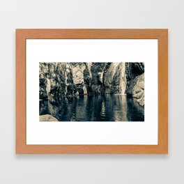 Wading Pool Framed Art Print