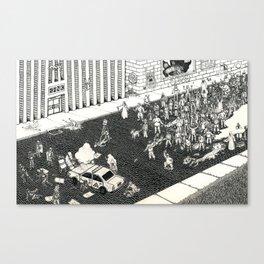 Status Quo Canvas Print