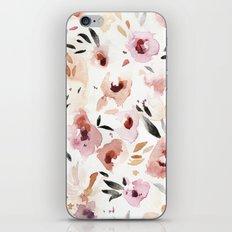Wild Pansies iPhone & iPod Skin