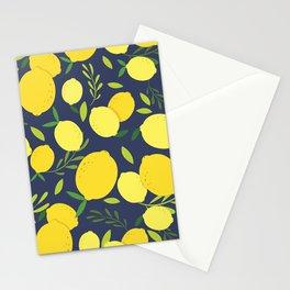 Freshly Picked Lemon Stationery Cards