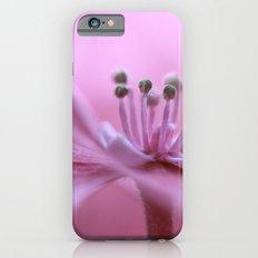 Pink Hydrangea Slim Case iPhone 6s