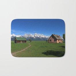 Moulton Homestead and Grand Teton Range Bath Mat