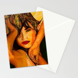 A taste of passion. Stationery Cards