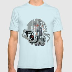 aou ultron Light Blue Mens Fitted Tee SMALL