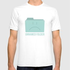PAUSE – Unnamed Folder Mens Fitted Tee White SMALL