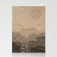 skyrim Stationery Cards featuring City of Gems by Hieronymus7Z