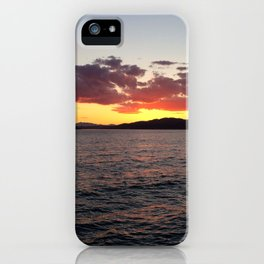 Ocean Calm III iPhone Case