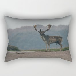 Majestically Stag Rectangular Pillow