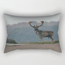 Majestically Stag Rectangular Pillow