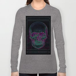 Skull (Colour) Long Sleeve T-shirt