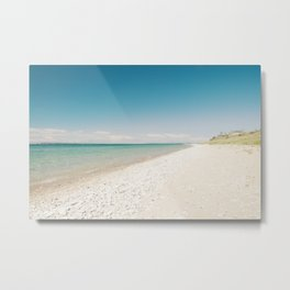 Seaside Manitou Island Metal Print